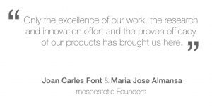 Mesoestetic Mission Statement
